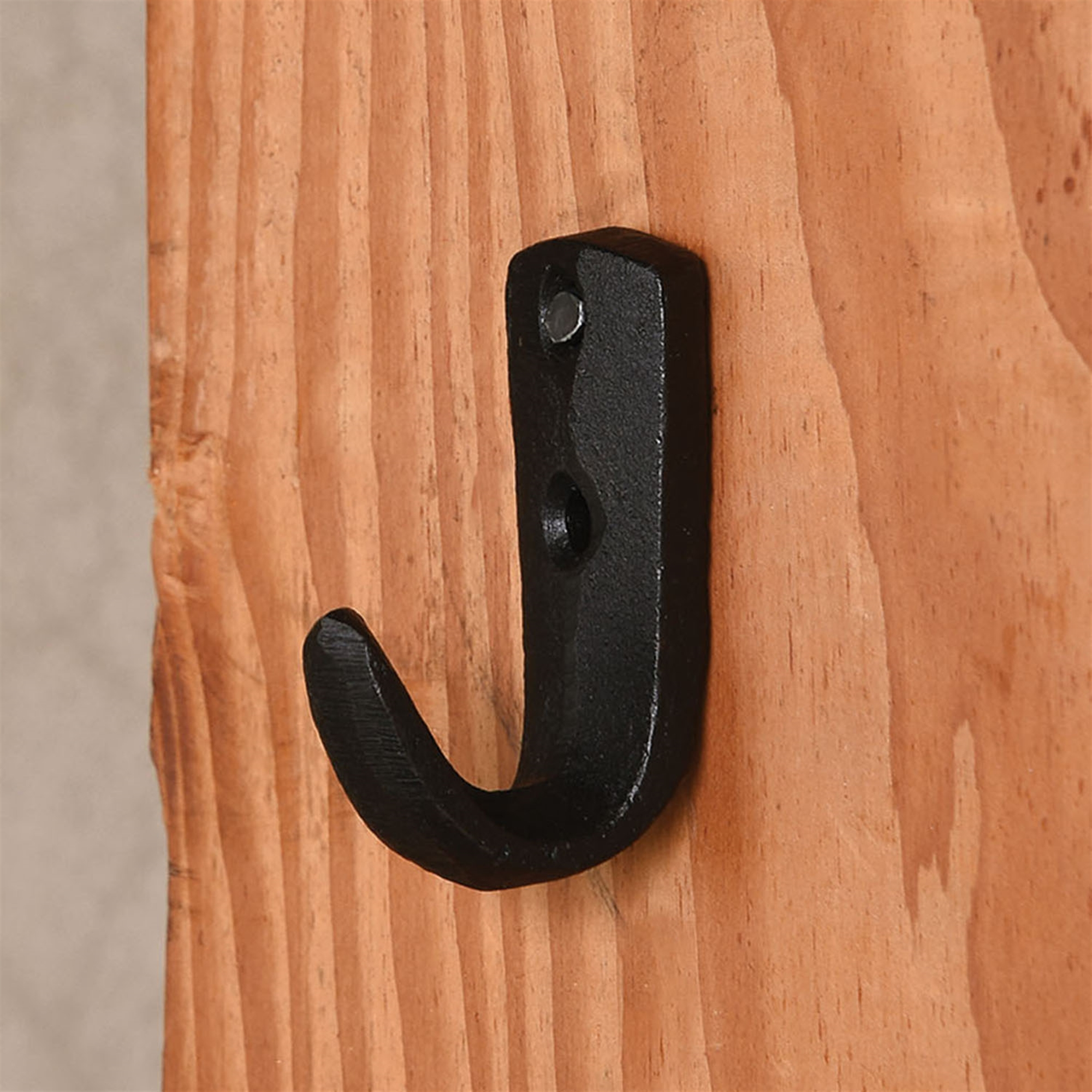 Small Black Cabin Wall Hook Set Of 5 By Homart Seven