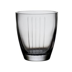 Vase / Hurricane with Vertical Stripes by Abigails